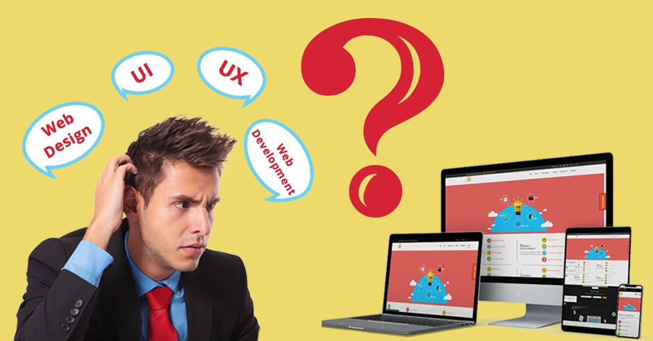 Difference Between Web Design, Web Development, UI, UX- Bindura Digital Marketing