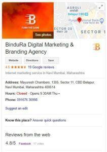 Google My Business Identity - Bindura Digital Marketing Company